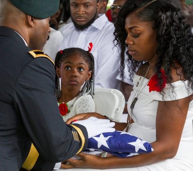 Trump Fallen Soldier Funeral