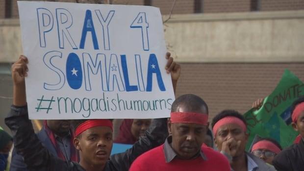 Somalia vigil