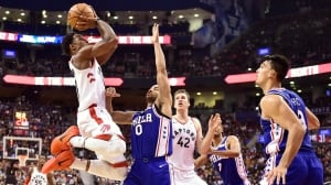 DeMar DeRozan rebounds from flu to help Raptors crush 76ers