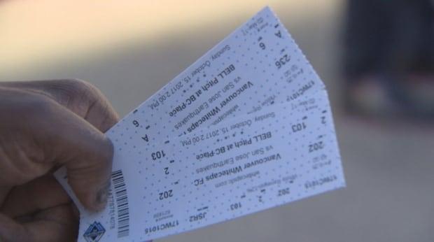 Whitecaps Tickets