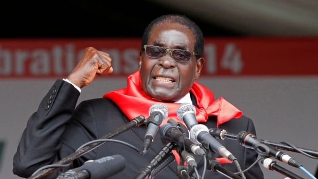 The head of the World Health Organization sidelined Zimbabwean President 