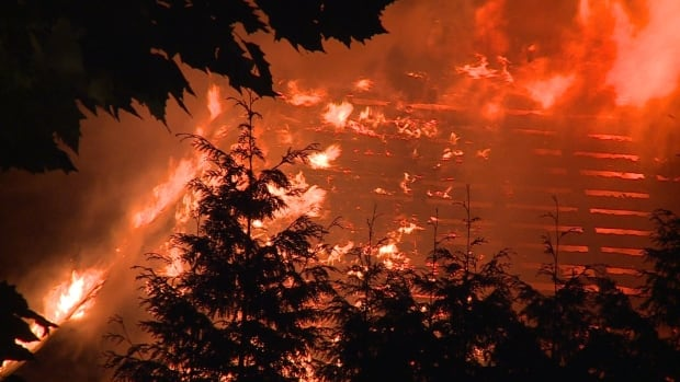 SHAUGHNESSY MANSION FIRE VANCOUVER