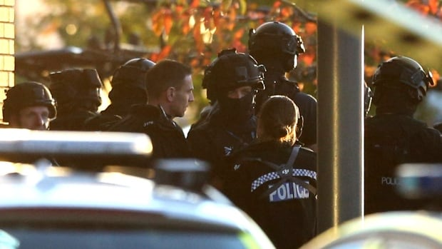 Police were called to Bermuda Park in Nuneaton, central England, for a reported  hostage-taking incident at a bowling alley.