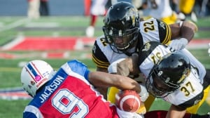 Brandon Banks, Ticats prey on Alouettes in enemy territory