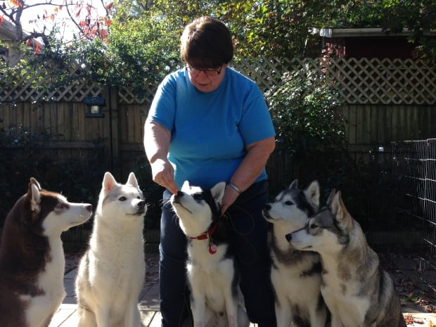 Brenda Potter & dogs