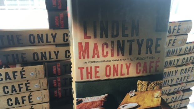 Linden MacIntyre read his book The Only Cafè Sunday afternoon.