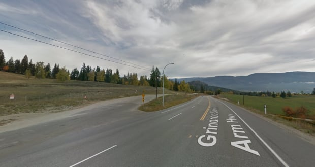 springbend road and highway 97b salmon arm human remains found