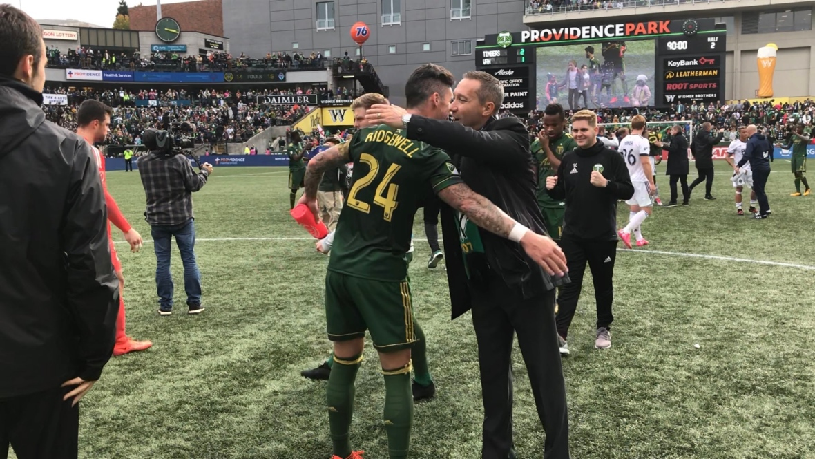 Timbers wrest Western Conference title from Whitecaps with win