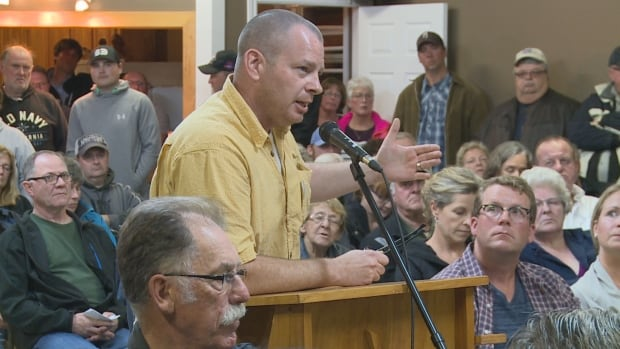Albany resident Mike Green says he's furious over the proposal that areas within Borden-Carleton's fire district should be annexed.