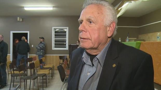 Borden-Carleton mayor Dean Sexton - 22/10/17