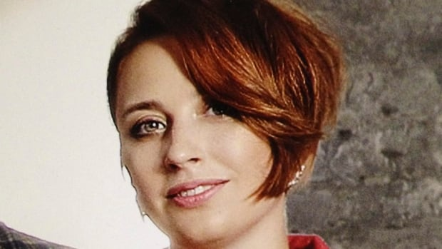 Radio journalist Tatyana Felgenhauer, seen here in an undated photo, suffered non-life-threatening injuries after she was stabbed in the neck at the Ekho Moskvy studios on Monday.  The station's searing criticism has irked many in the Russian government, and its hosts and journalists previously reported death threats.