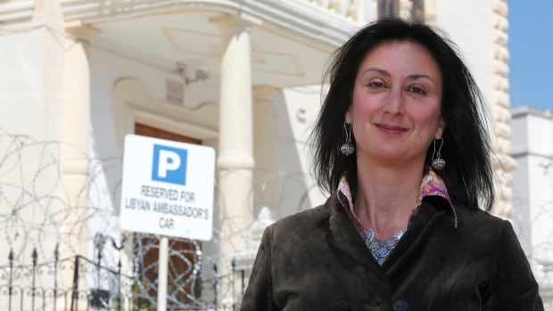 Maltese investigative journalist Daphne Caruana Galizia, seen in a 2011 photo, was killed a week ago by a car bomb.