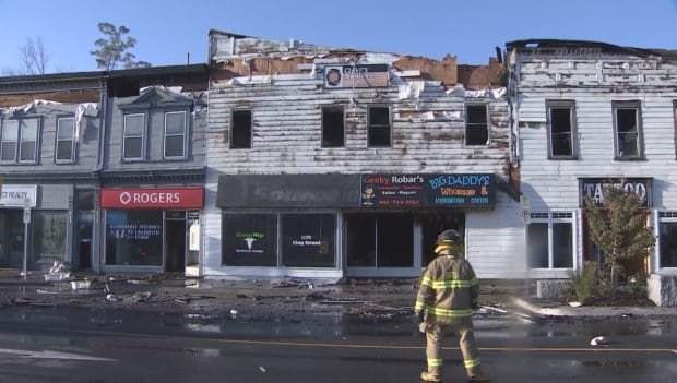Bridgewater fire damage