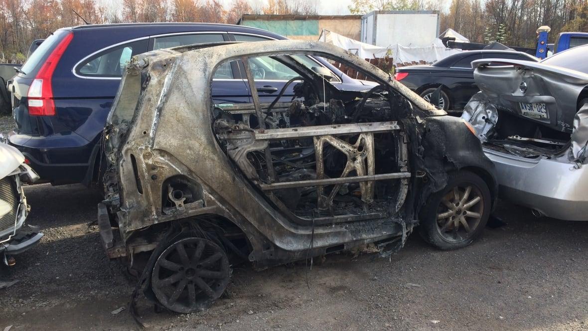 Smart Car Model Under Investigation Bursts Into Flames On Highway