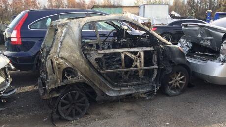 smart car burns