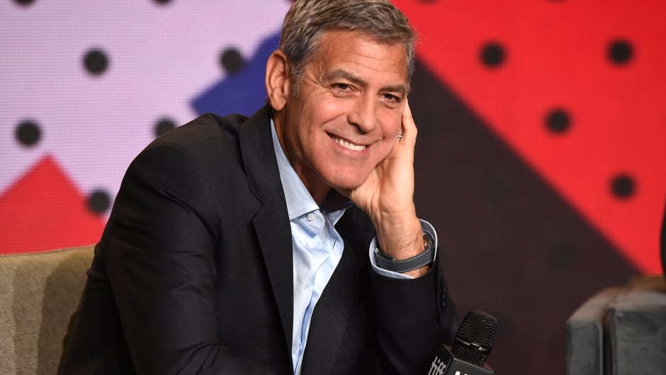 Afraid of breaking them: George Clooney talks about twins