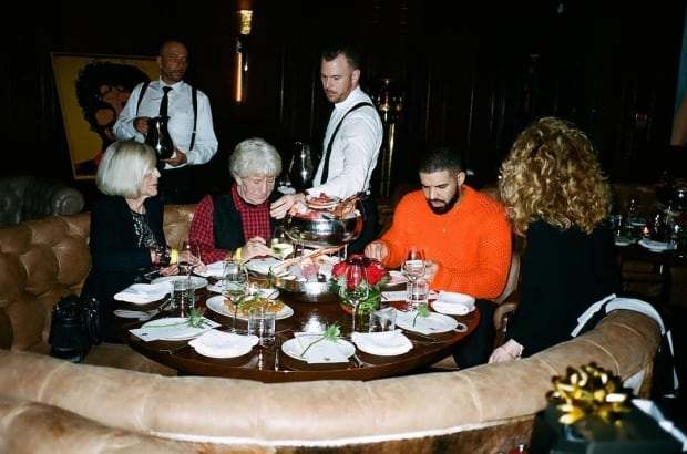 Drake and family