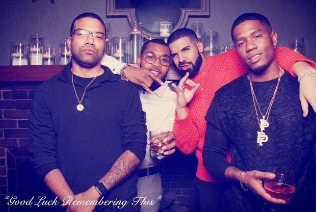 Drake's entourage