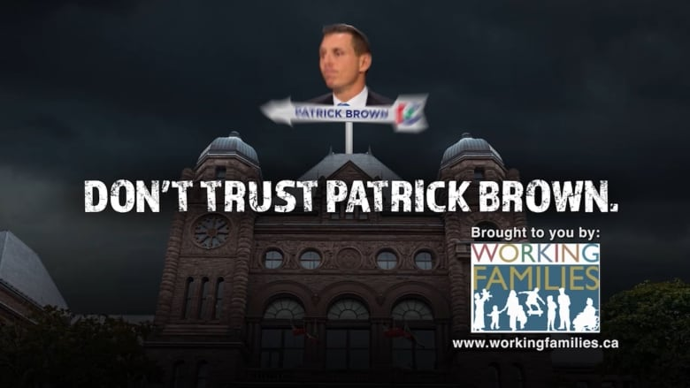Working Families Coalition targets Patrick Brown in new attack ad