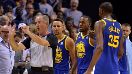 Warriors' Curry fined $50Gs for 'mouthing off' at ref