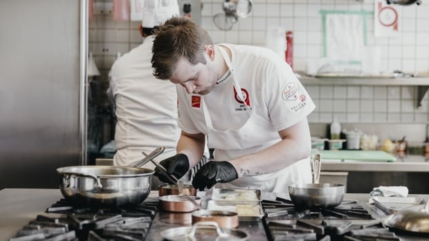 Connor Sperling won $10,000 and a spot at a globally renowned restaurant after winning the Hawksworth Young Chef Scholarship Competition.