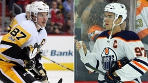 McDavid plays fan, Crosby plays it cool ahead of 1st meeting of season