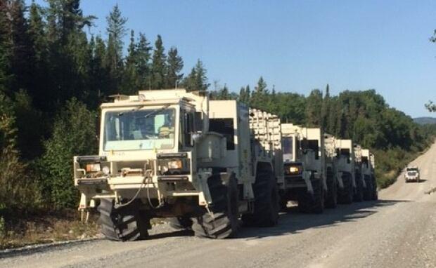 Vibrator trucks
