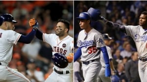 World Series: Fresh faces feature prominently for Astros, Dodgers