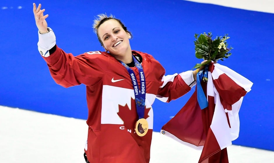 Marie-Philip Poulin Hockey