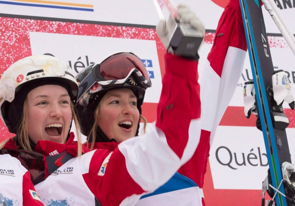 Justine and Chloe Dufour-Lapointe