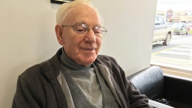 John Hamlyn has been mayor of Crow Head, a town in central Newfoundland, since 1962.