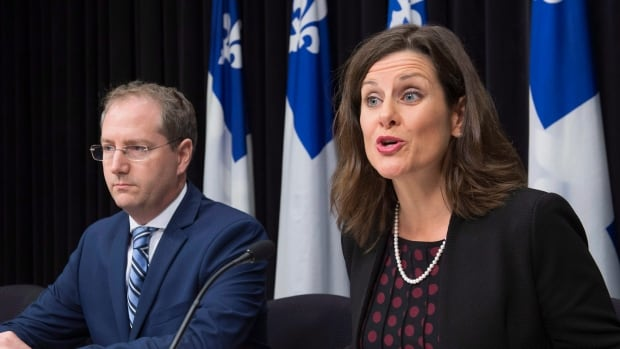 Quebec Justice Minister Stéphanie Vallée provided further details on Tuesday about how the government's controversial Bill 62 will be implemented.