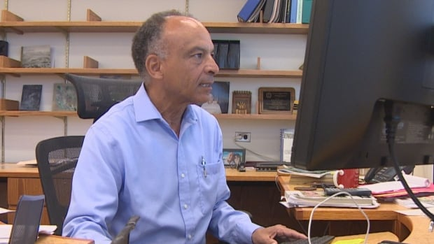 An internal email indicates someone may have accessed the computer account of Esam Hussein, the dean of engineering at the University of Regina, in order to alter students' grades.