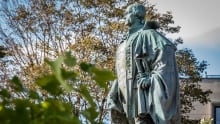 Edward Cornwallis statue - Halifax park