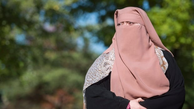 Warda Naili, a Quebec woman who converted to Islam, is a plaintiff in the legal challenge.