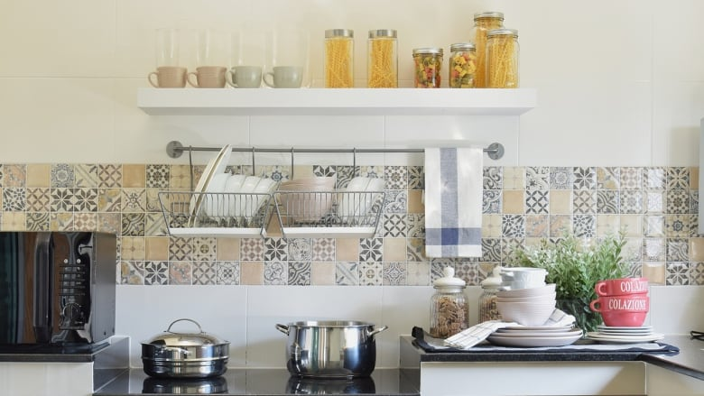 Give Your Kitchen Backsplash A Facelift With This Simple Tiling