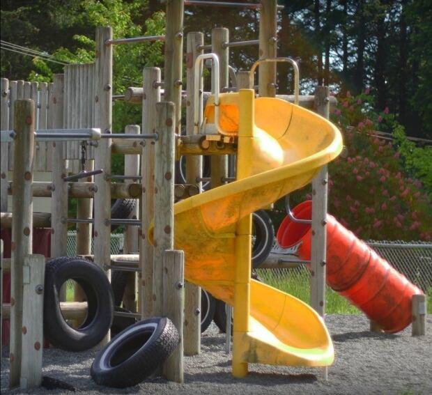 Galiano Community School playground