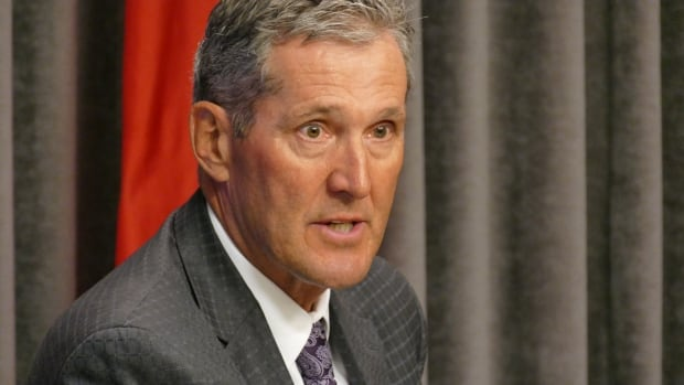 Manitoba Premier Brian Pallister said Tuesday the province will not follow through with the health-care tax it floated in September.