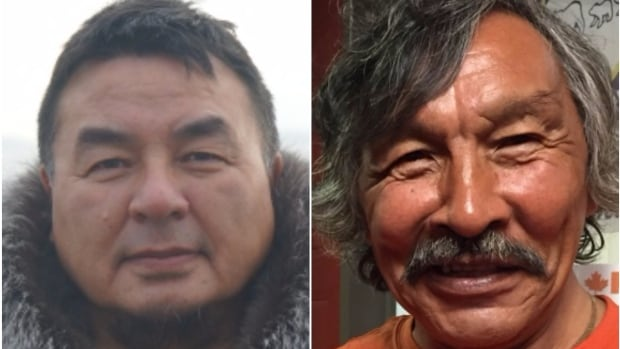 Patterk Netser (left) and Jack Anawak (right) are the two candidates in the Aivilik constituency.