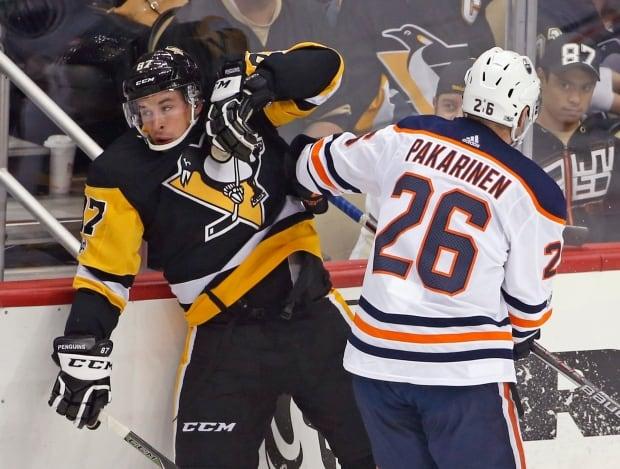 Oilers Penguins Hockey