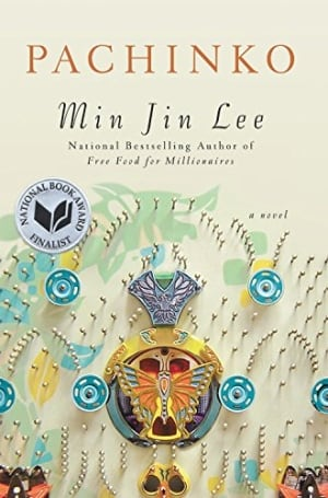 BOOK COVER: Pachinko by Min Jin Lee