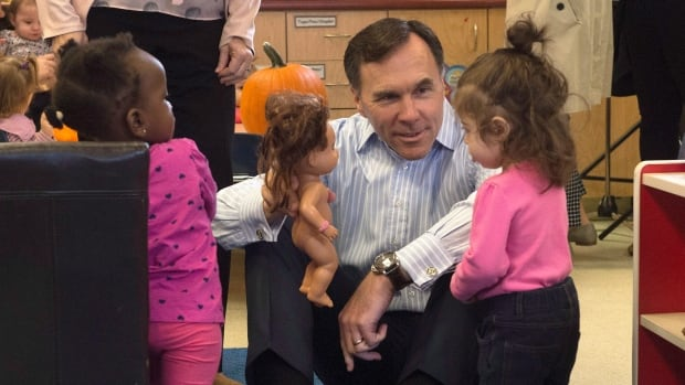 Finance Minister Bill Morneau announced last week that monthly child benefits would rise with the cost of living starting next July. The Fraser Institute says the average middle-class family is paying more in taxes under the Liberals, but doesn't factor in the enhanced benefit.