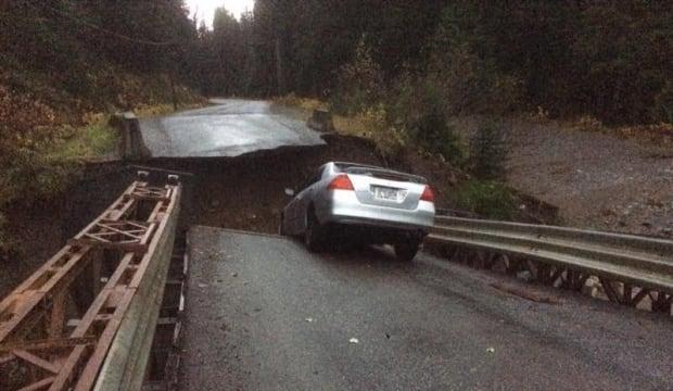 Bridge washout