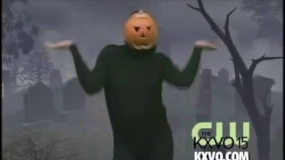 The Man Behind The Mask Matt Geiler Aka Dancing Pumpkin Man
