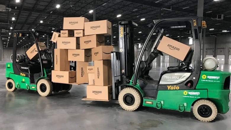 Giant Amazon Distribution Centre Near Calgary To Create 750