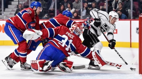 Kings' Quick Goals And Quick Goaltending Too Much For Habs