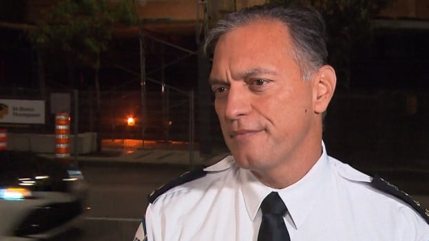 Montreal police Chief Philippe Pichet said provincial police investigators were looking for a specific file when they raided SPVM headquarters Thursday evening.