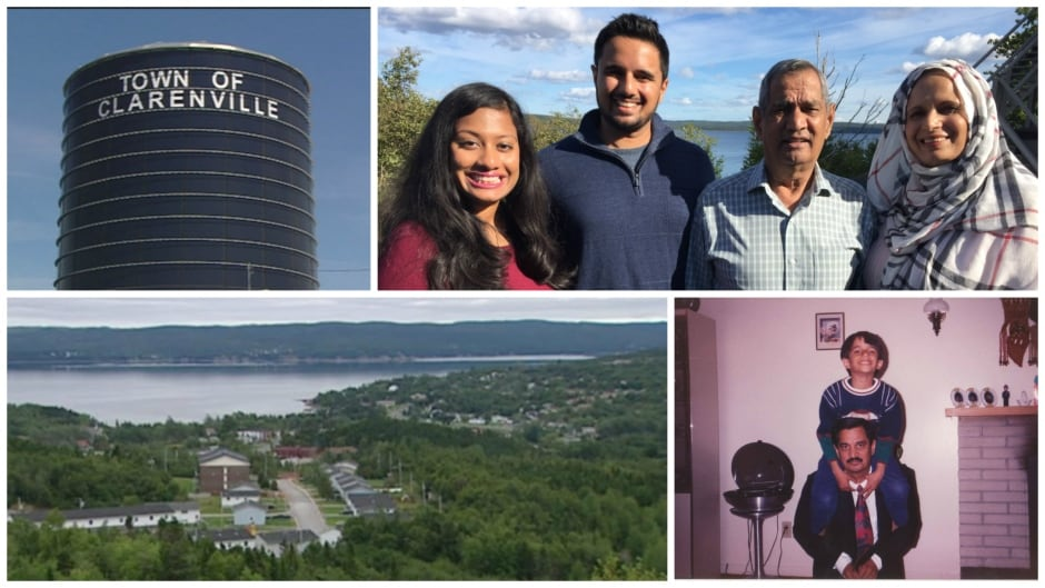 Aatif Baskanderi, who now lives in Calgary, recently returned to Newfoundland to tell his story of what it was like growing up brown and Muslim in tiny Clarenville.