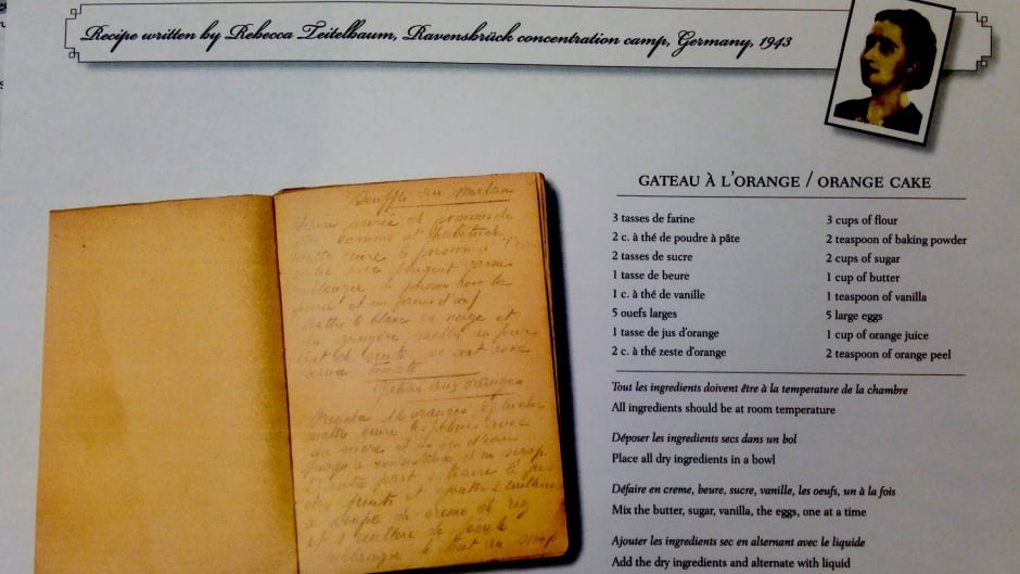 Rebecca Teitelbaum's recipe for Gâteau à l'orange. For an enlargement of the recipe, scroll to the bottom of this article.