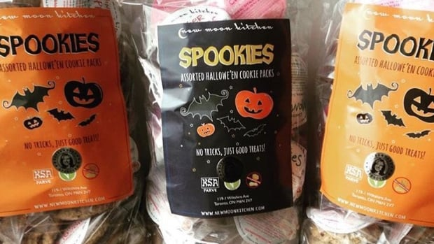 Spookies are sold in a bag with about 50 cookies and are also dairy and nut free.
